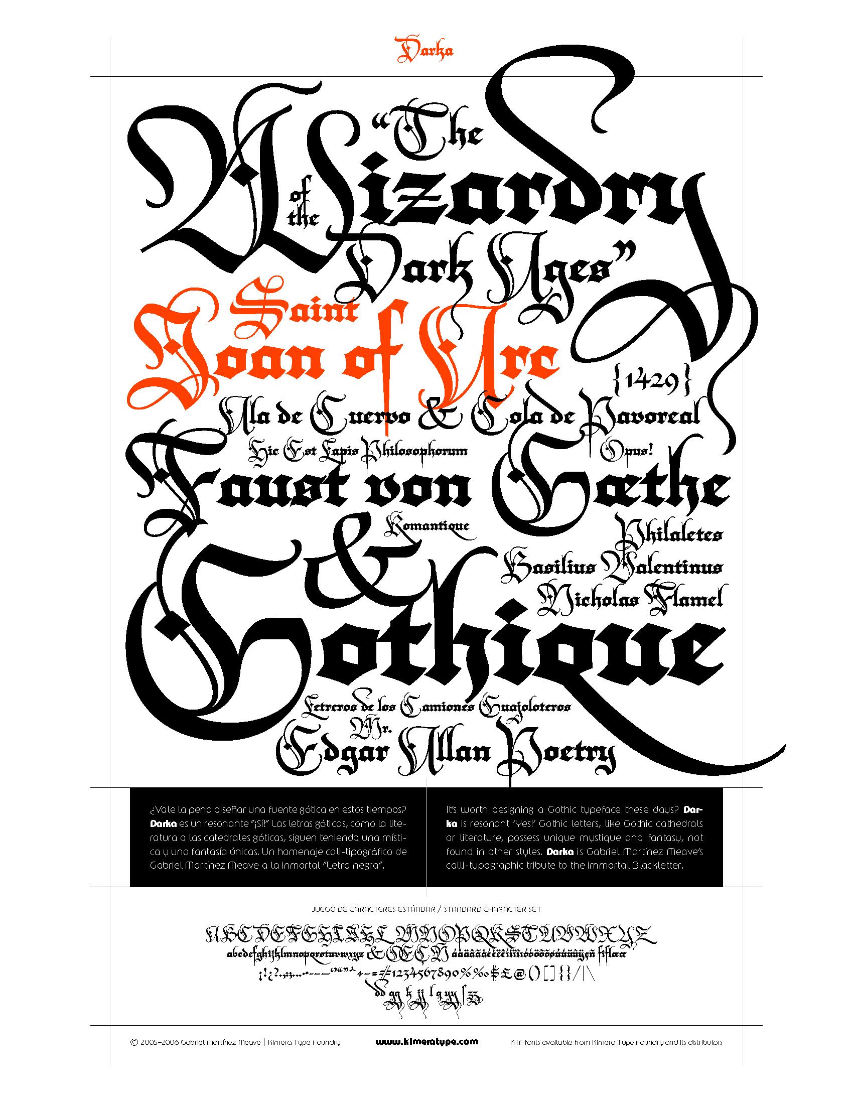 fotos de tatuajes en letras goticas. Las letras góticas son un elemento muy importante y endemico en la cultura