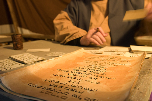 La Belleza de la tipografía: Sistemas de escritura y Caligrafía de alrededor del mundo II (3/6)