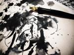 Aerosyn-Lex Mestrovic, ilustrando con tinta yspeedball