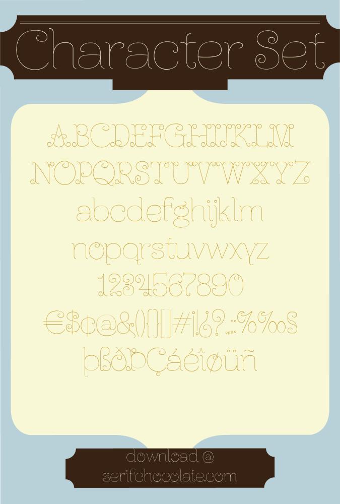 Ferrica Light, tipografía gratis (2/5)