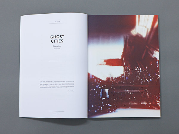 Dise o editorial el serif de chocolate for Minimalist book design